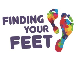 Finding Your Feet Logo